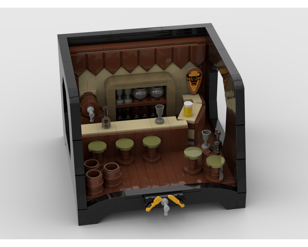 MOC - Medieval Tavern with a special stand