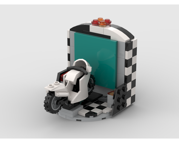 MOC - Motorcycle Arcade Game - How to build it