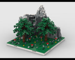 MOC - Mountain with Forest