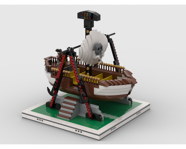 MOC - Pirate Ship for modular Amusement Park
