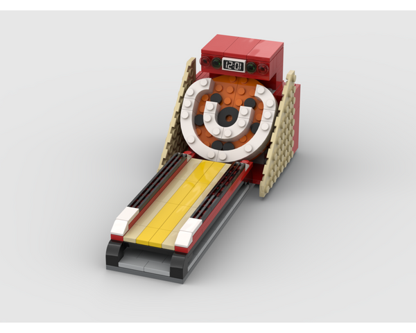 MOC - Skee Ball Machine - How to build it