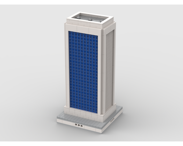 MOC - Skyscraper building #3 | for modular city - How to build it