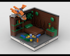 MOC - Super Heroes Room Design #12