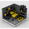 MOC - Super Heroes Room Design | build from 4 models