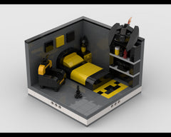 MOC - Super Heroes Room Design #1