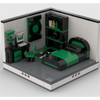 MOC - Super Heroes Room Design #2 - How to build it