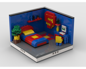 MOC - Super Heroes Room Design #3