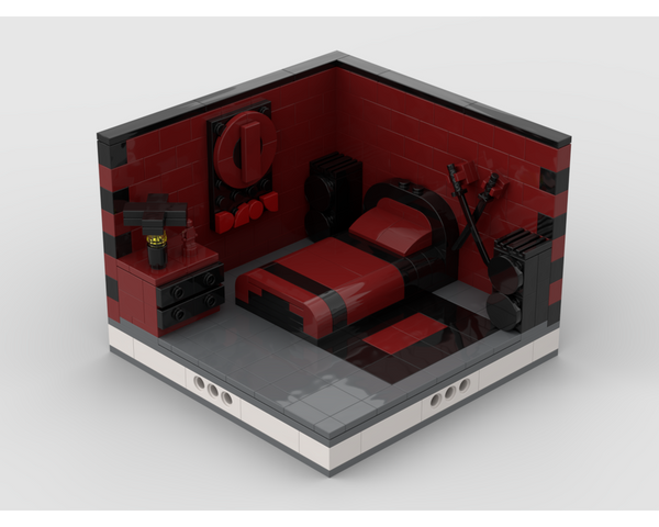 MOC - Super Heroes Room Design #5 - How to build it
