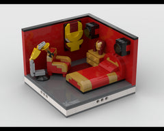MOC - Super Heroes Room Design #8