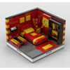MOC - Super Heroes Room Design #9 - How to build it