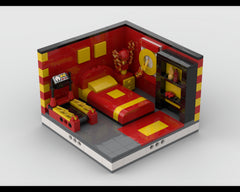 MOC - Super Heroes Room Design #9