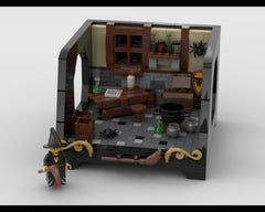 MOC - Witch Room Design with a special stand
