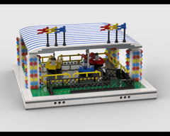 MOC - Bumper cars for modular Amusement Park
