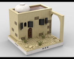 MOC - Desert House #8 for a Modular Desert village
