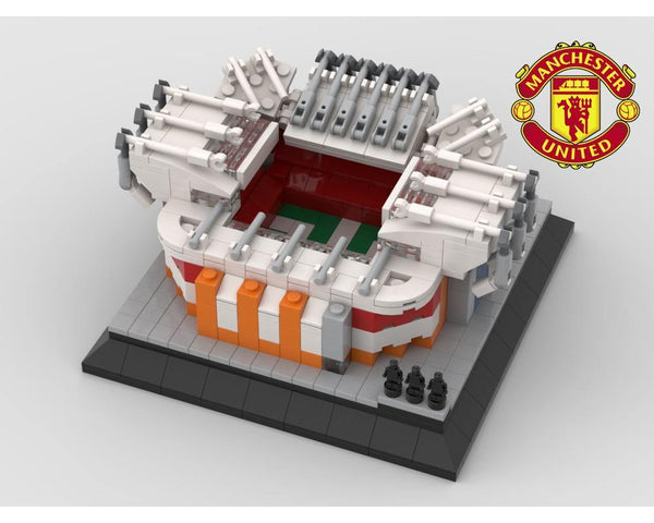 MOC - Manchester United Stadium Mini model - How to build it
