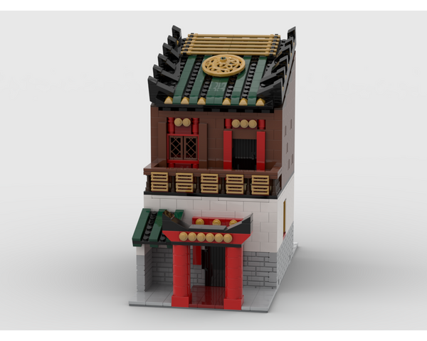 MOC - Modular Chinese House - How to build it