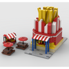 MOC - Modular French Fries Stand - How to build it
