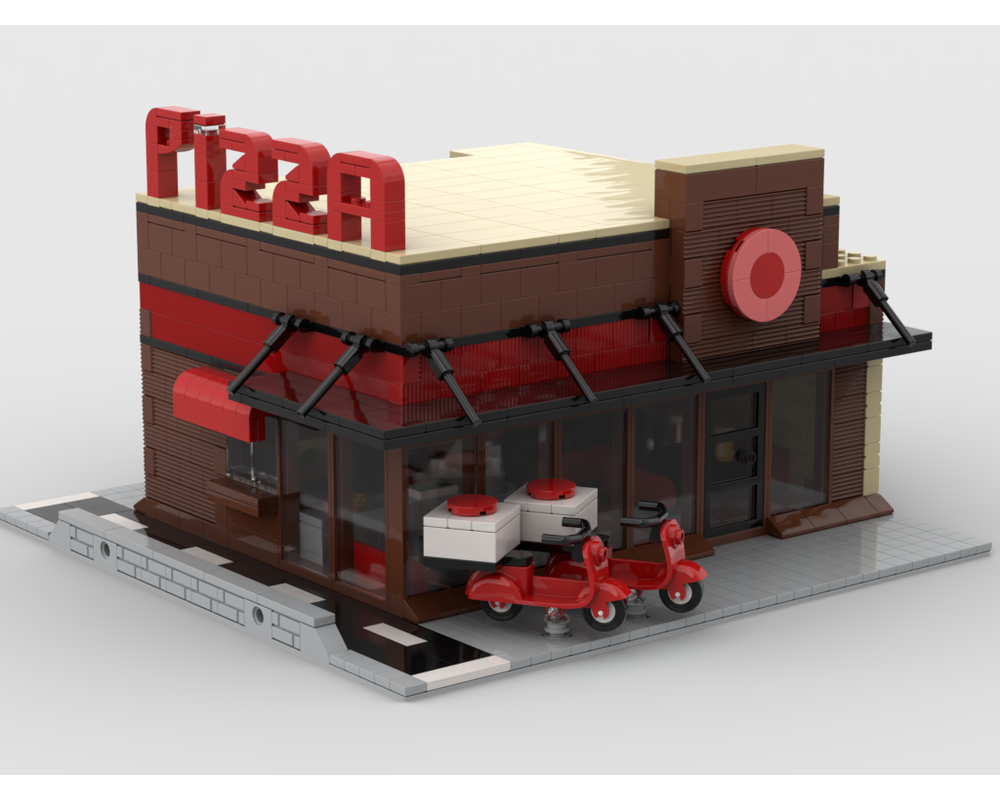 MOC - Pizza Modular Building