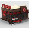 MOC - Pizza Modular Building - How to build it
