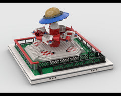 MOC - Space Carousel for modular Amusement Park