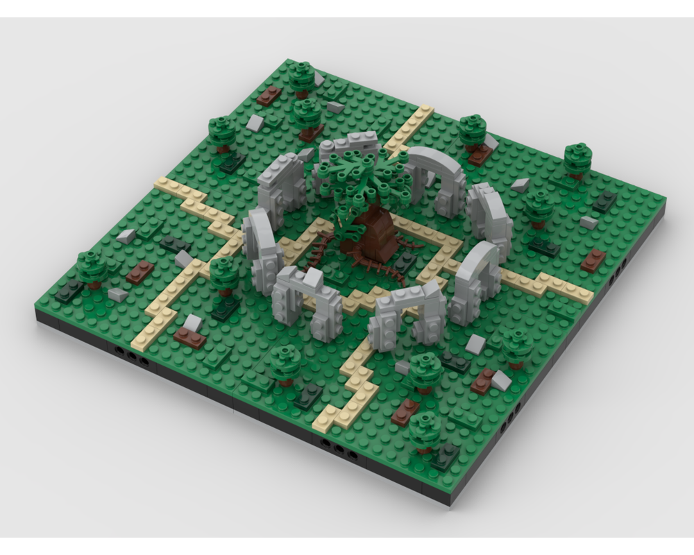 MOC - The Magical Old Tree