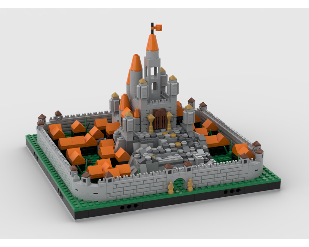 MOC - The orange castle