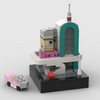MOC - Mini SET 10260 - Downtown Diner - How to build it