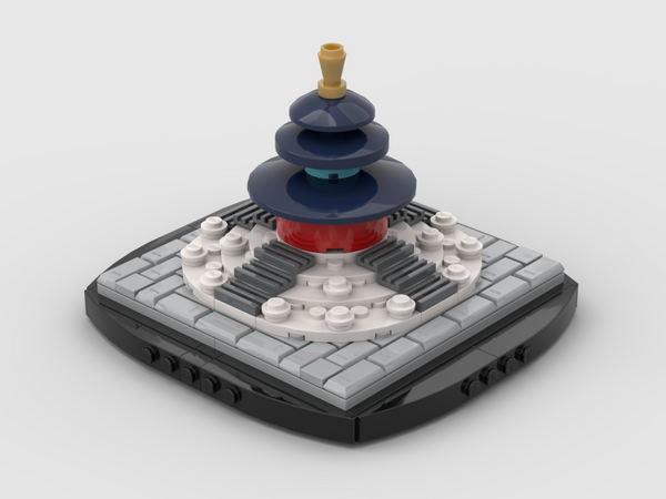 MOC - Mini Temple of Heaven - How to build it