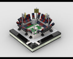 MOC - Mini Soccer Stadium for a Modular City