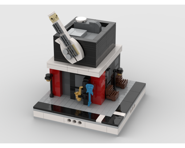 MOC - Music Shop for a Modular City
