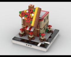 MOC - Pizza house for Modular City