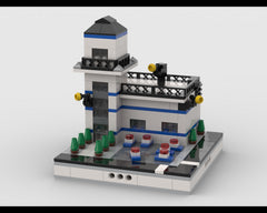 MOC - Police Station for a Modular City
