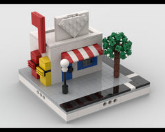 MOC - Post Office for a Modular City