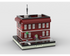 MOC - Red House for Modular City - How to build it
