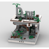 MOC - Ruined Diner for a Modular Ruined City - How to build it