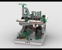MOC - Ruined Diner for a Modular Ruined City