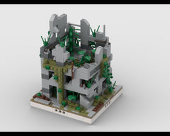 MOC - Ruined House #3 for a Modular Ruined City
