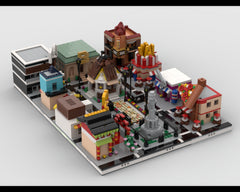 MOC - Shopping Center - build from 12 different mocs