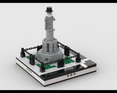 MOC - Statue for a Modular City