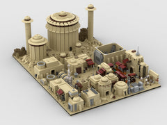 MOC - Modular Tatooine | Build from 18 MOCs