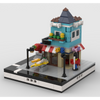 MOC - Toy Shop for a Modular City - How to build it