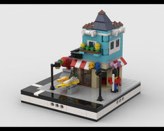 MOC - Toy Shop for a Modular City