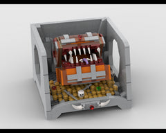 MOC - Treasure Cave - A Mimic Monster
