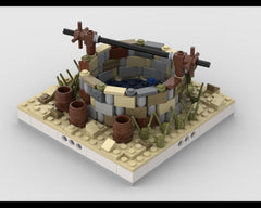 Well for a Modular Desert village