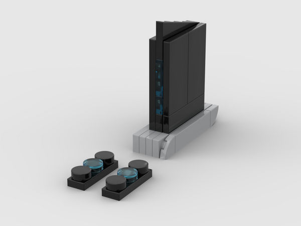 MOC - Nintendo Wii Black - How to build it