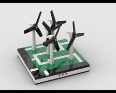 MOC - Wind turbine farm for a Modular City
