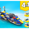 MOC - 31094 Speed Boat Alternative Build - How to build it