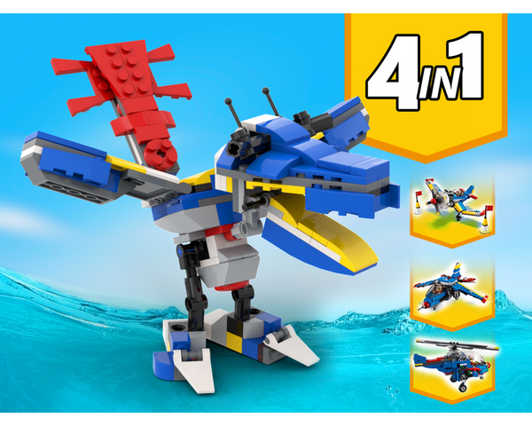 MOC - 31094 Bird Alternative Build - How to build it