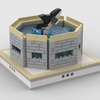 MOC - Orca Whale | mini modular ZOO - How to build it