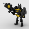 MOC - Batman Figure - How to build it